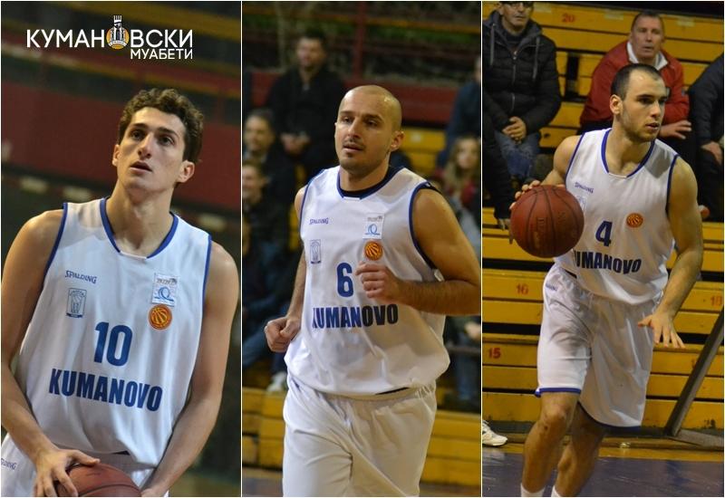 Тројца играчи на КК Куманово останаа на репрезентативниот список