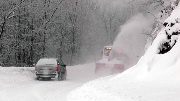 ЦРВЕН МЕТЕОАЛАРМ: Хрватска се подготвува за ново снежно невреме