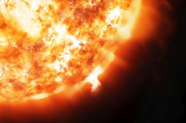 Соларна бура пристигнува до Земјата