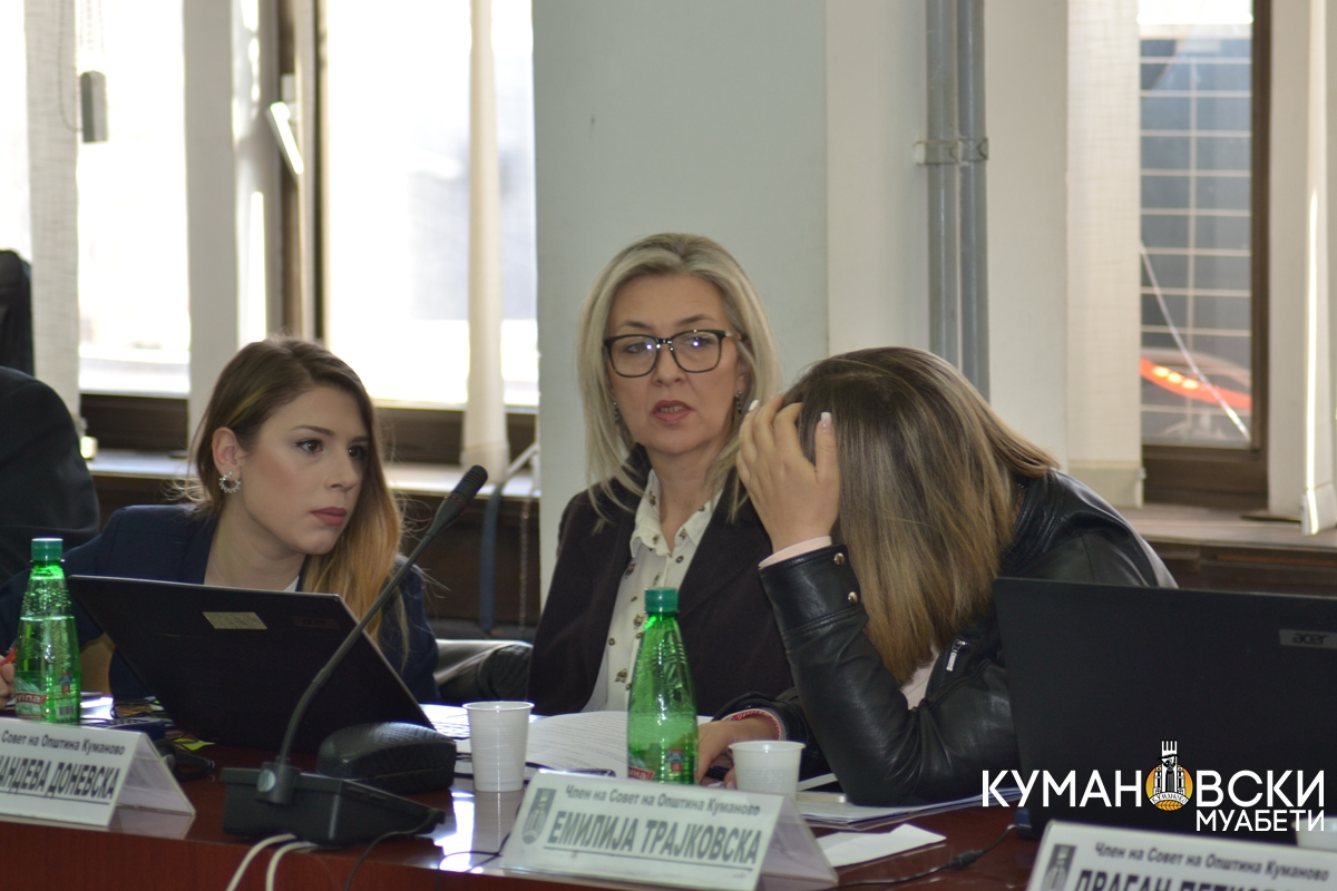 (ГАЛЕРИЈА) Седма седница на Совет на Општина Куманово