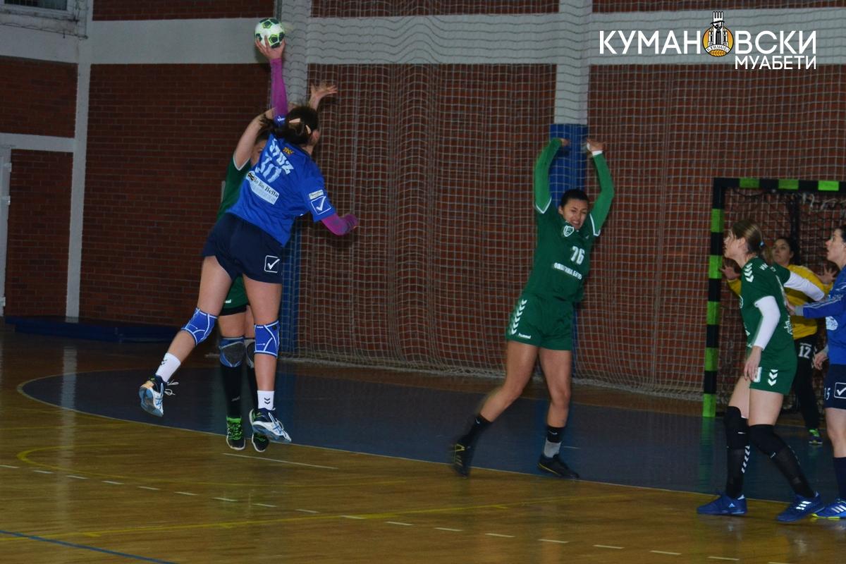 ЖРК Куманово извојува победа над Михаела Митревска