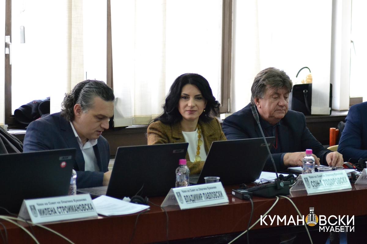 29 точки ќе се најдат пред советниците на Општина Куманово на 7. седница
