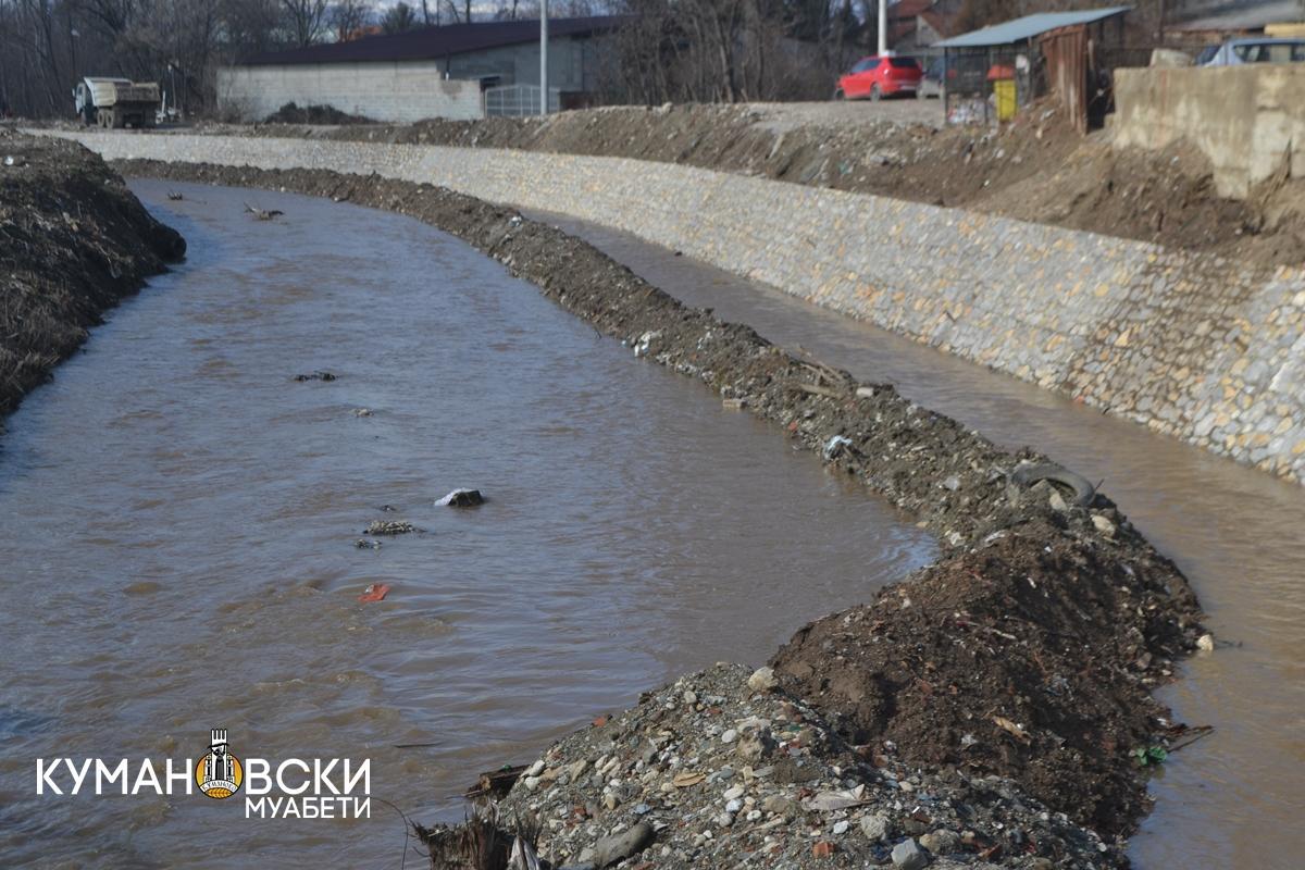 Повторно се чистат речните корита во градот (ВИДЕО)