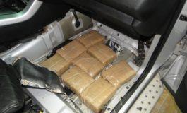 10 килограми марихуана запленети на Деве Баир (ФОТО)