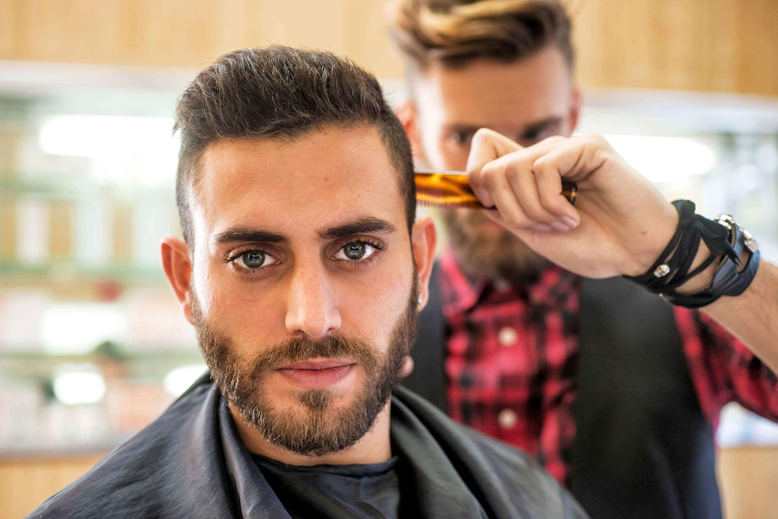 Мажите ja менуваат фризурата само 3 пати во животот