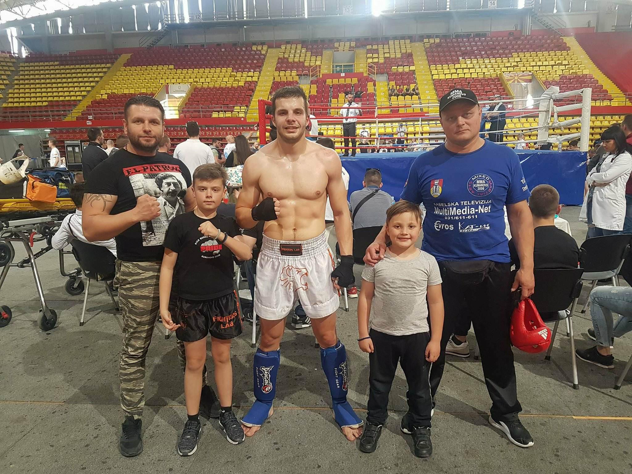 Наковски освои златен медал на државно првенство во кик бокс