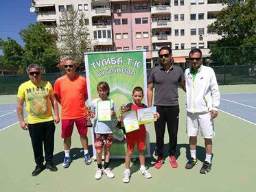TK Тумба организираше тениски турнир