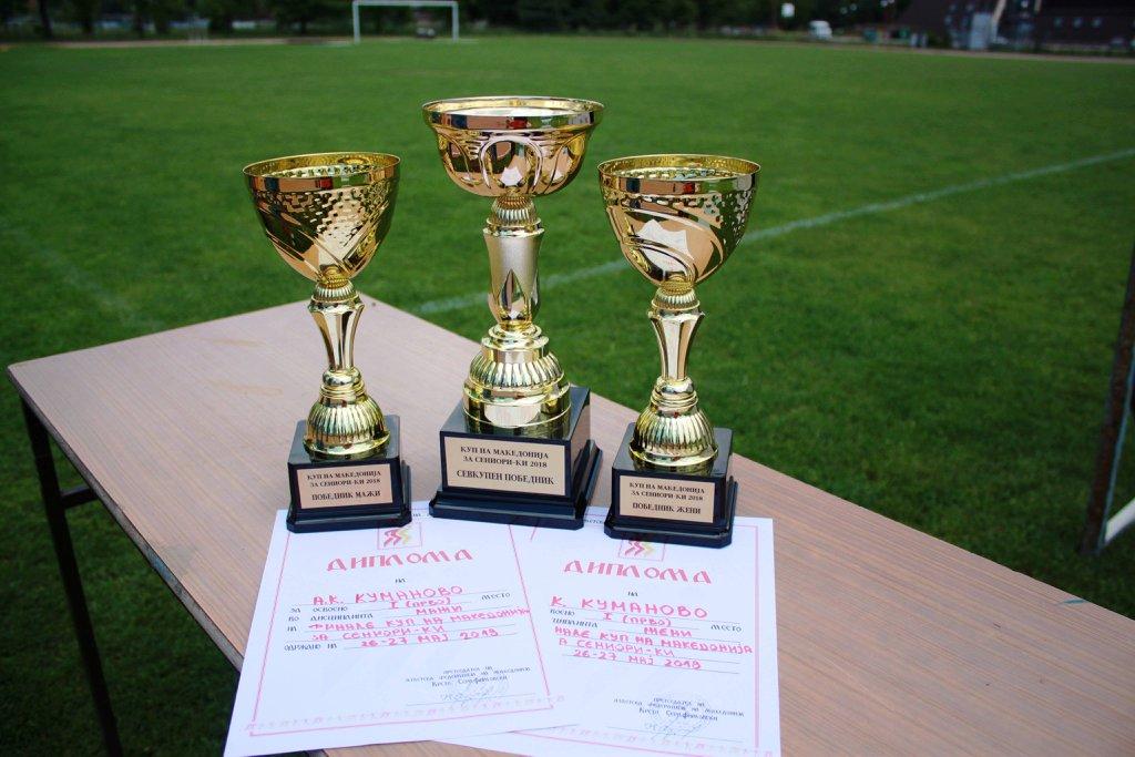 Атлетичарите на Куманово најдобри на Сениорскиот куп (ФОТО)