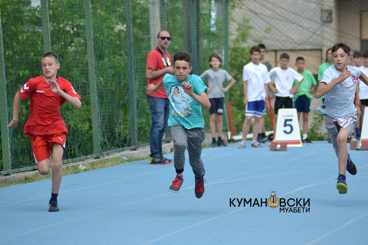 (ГАЛЕРИЈА) Државно првенство во атлетика за основни училишта