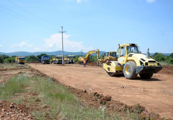 Започна изградбата на експресниот пат Ранковце – Крива Паланка (ФОТО+ВИДЕО)