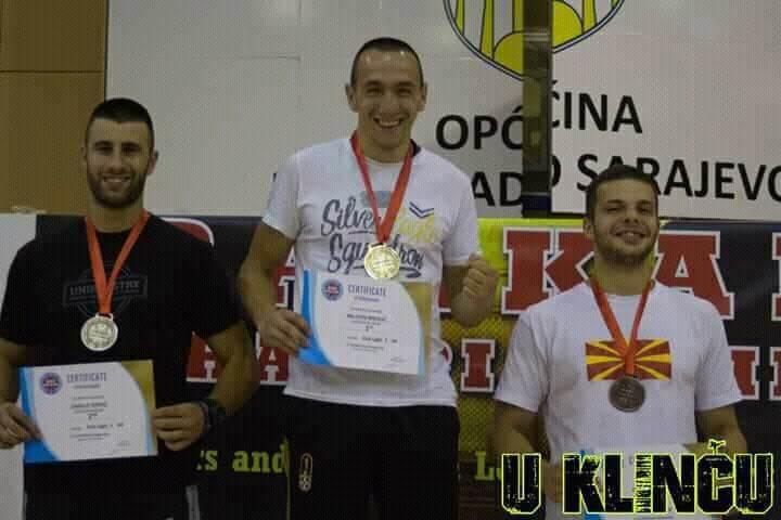 Филип Наковски со бронза од Балканското кик бокс првенство