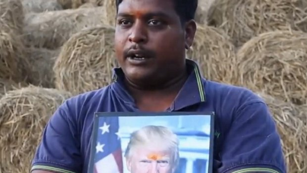 Индиец сака да му изгради храм на Доналд Трамп (ВИДЕО)