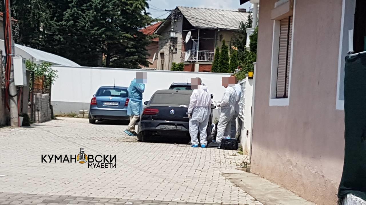 Автомобилот разнесен од бомба е сопственост на член на Совет на Општина Куманово (ФОТО)