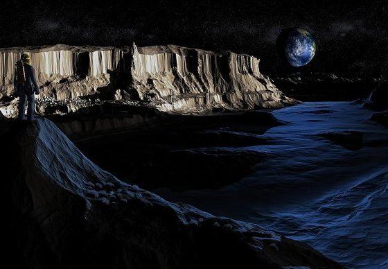 НАСЕЛУВАЊЕТО МОЖЕ ДА ПОЧНЕ: На Месечината откриена вода