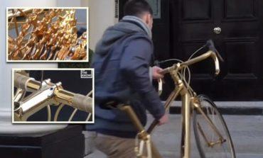 Овој велосипед чини 330.000 долари, да од злато е и тоа 24-каратно (ВИДЕО)