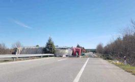 Сообраќајна незгода на патот Крива Паланка - Куманово