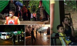 Осум деца извлечени од пештерата во Тајланд (ВИДЕО)