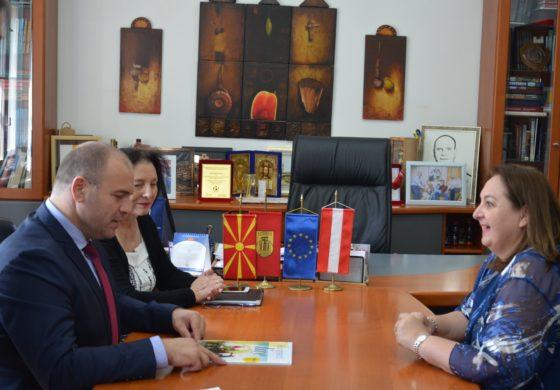 Амбасадорката на Австрија во посета на Општина Куманово (ВИДЕО)