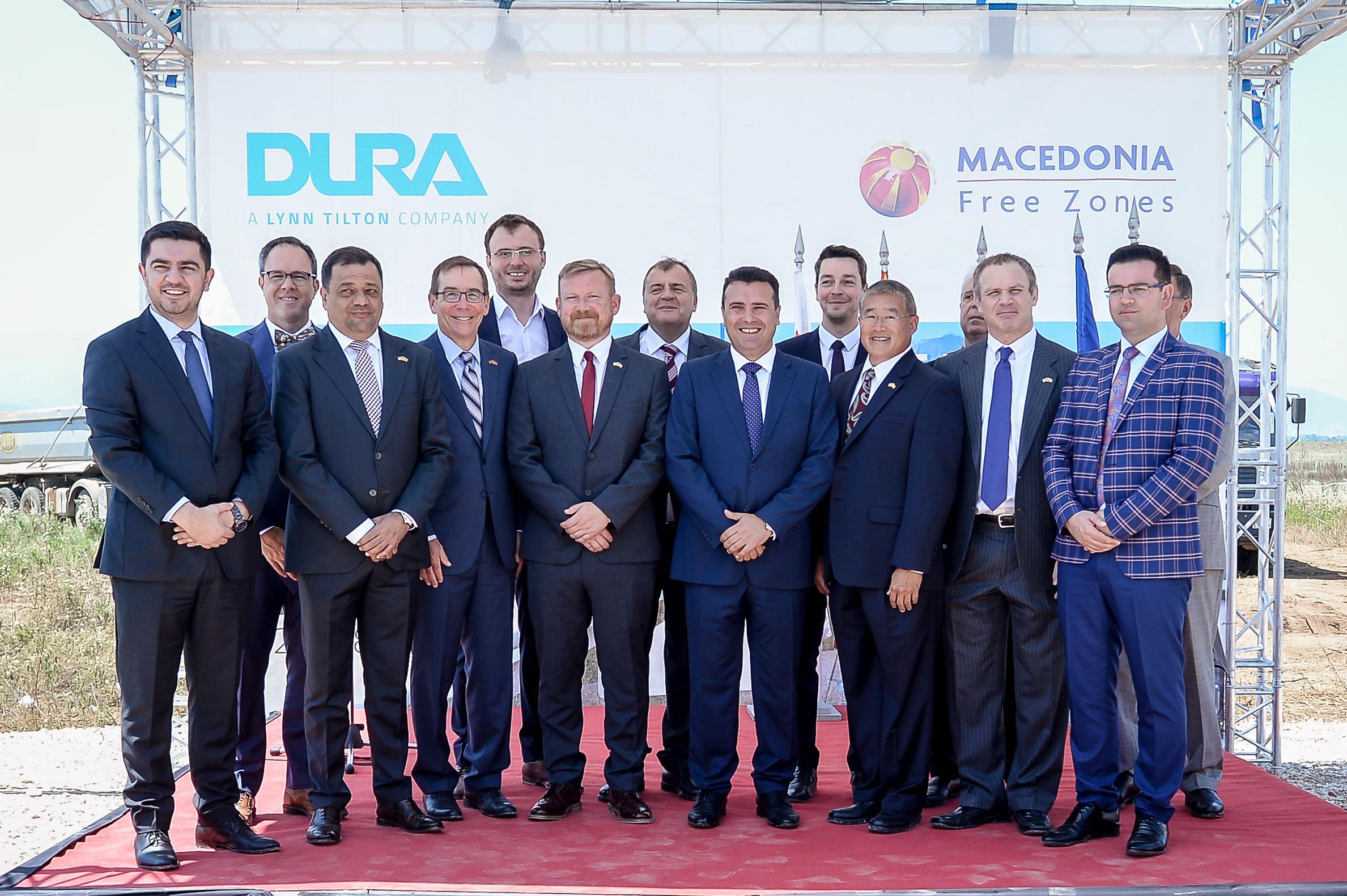 """Заев: Се гради фабрика на """"ДУРА"""" што ќе овозможи 500 нови вработувања (ФОТО+ВИДЕО)"""