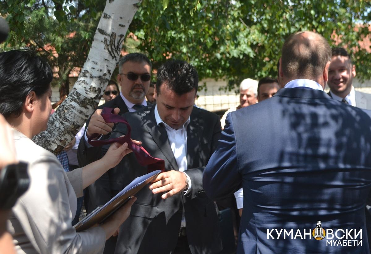 Со терористи можеш да преговараш, ама со протокол не, рече Заев и ја извади вратоврската (ФОТО)