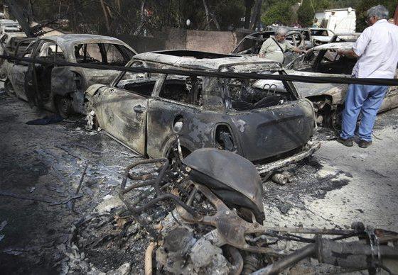 Над 50 лица загинаа во пожарите во Грција, Европа се мобилизира за помош