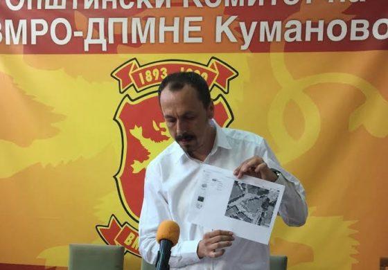 ВМРО-ДПМНЕ: Штабот на СДСМ издаден на приватен субјект е сопственост на општината