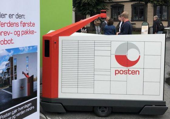 Норвешка добива робот поштар (ВИДЕО)