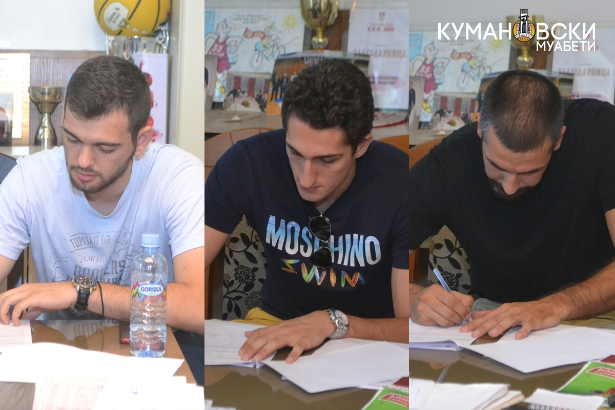 Пенов, Мекиќ и Тодоровиќ потпишаа за Куманово (ФОТО)
