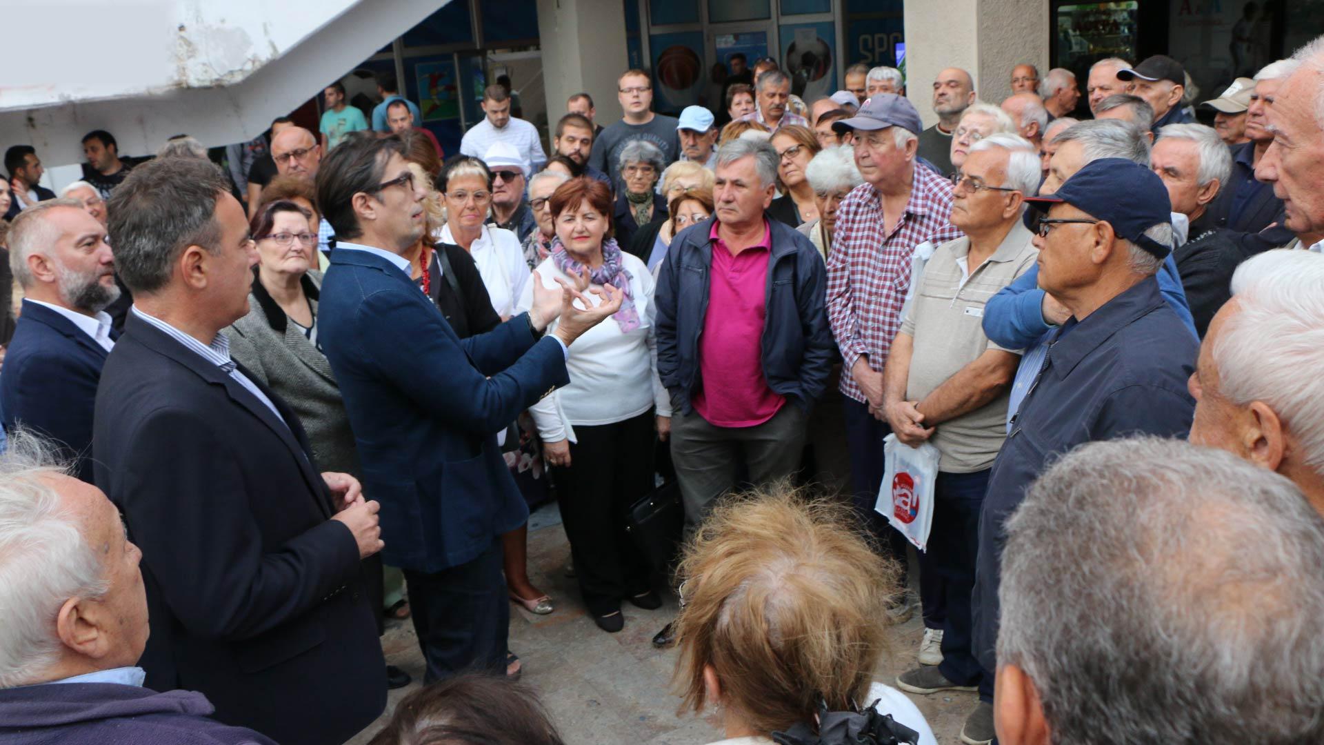 Пендаровски: Време е за одлука, да изградиме држава по европски стандарди