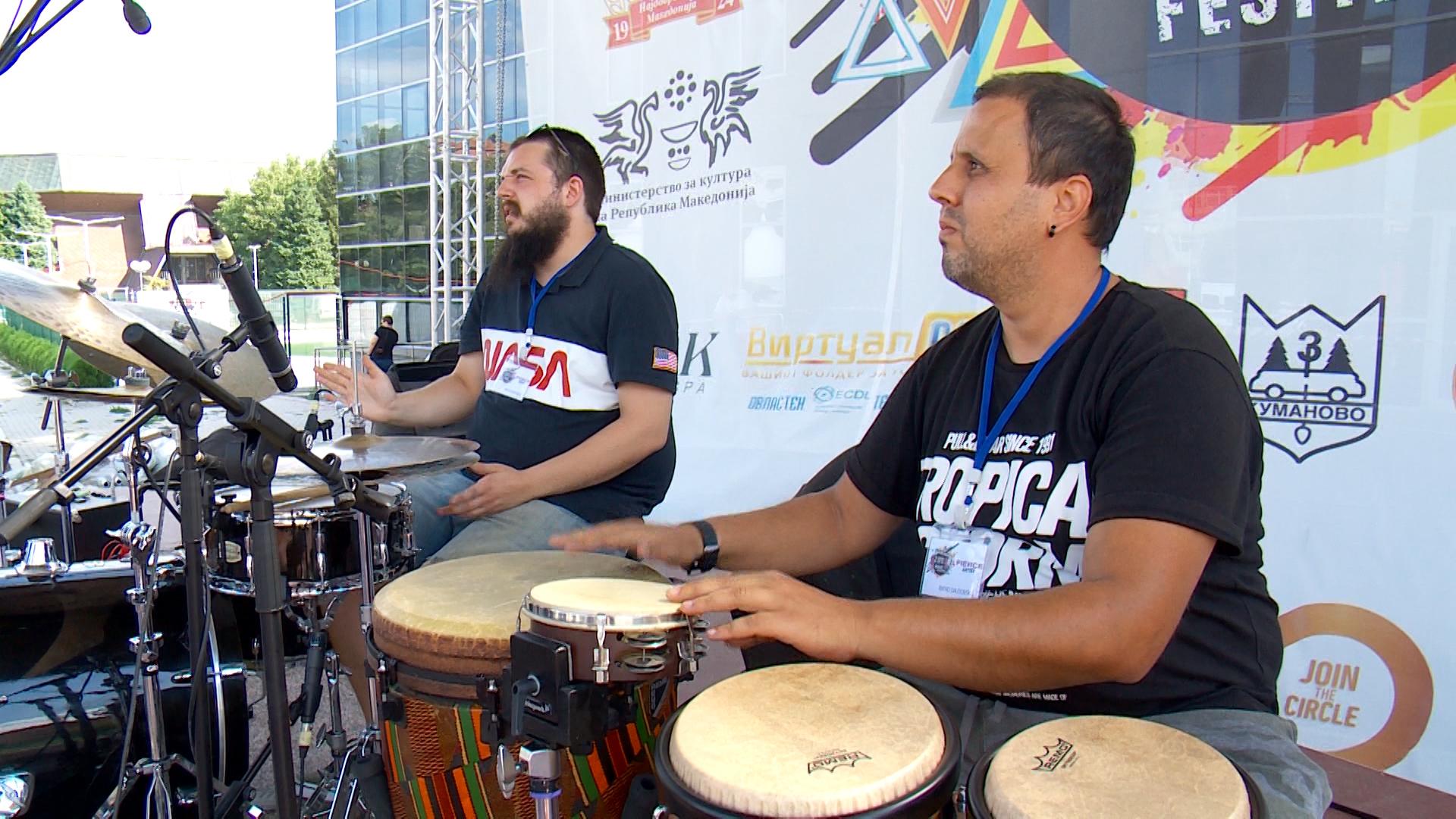 """Се е подготвено за """"Kumanovo Hangout Music Festival"""" (ФОТО)"""