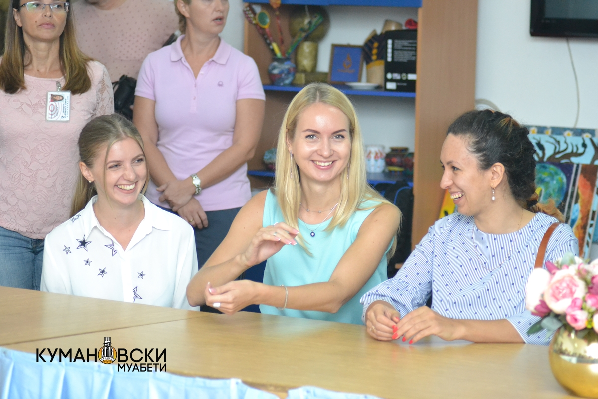 Претставници од руски универзитети во посета на Гимназијата (ФОТО)
