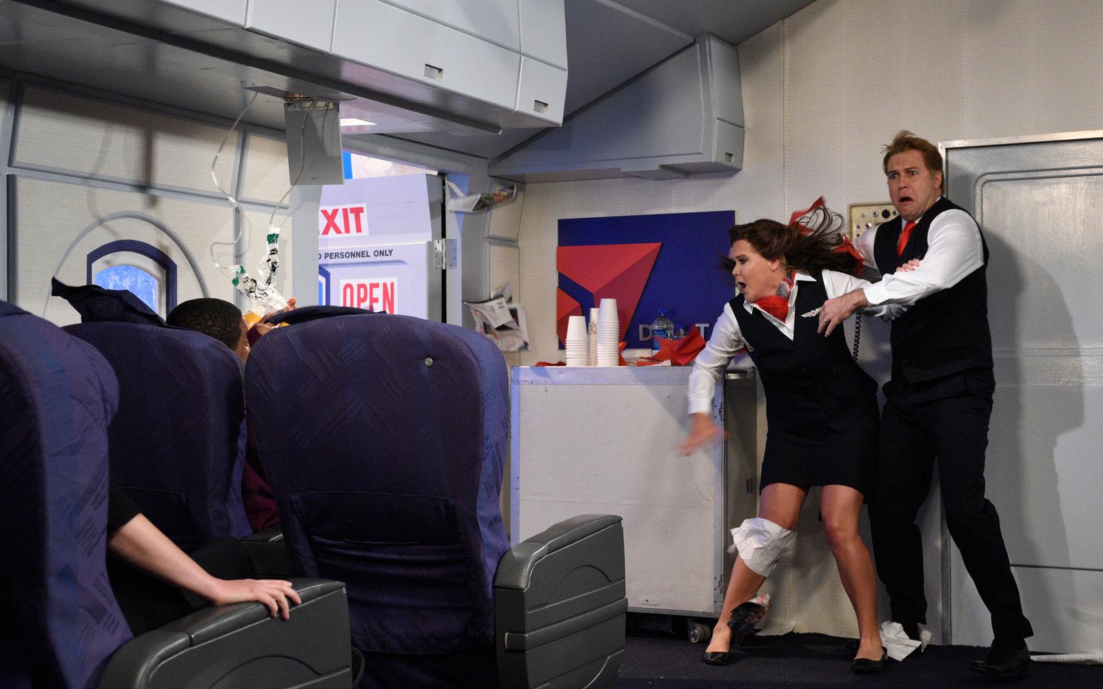 Сакал да оди во тоалет на летот, па предизвикал паника во авионот