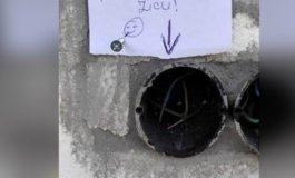ХИТ: Ако те мрзи да га правиш ѕвонче, остави упутство (ФОТО)
