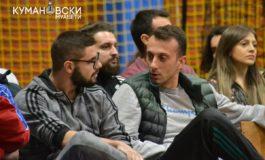 Караколев ги бодреше поранешните соиграчи (ФОТО)