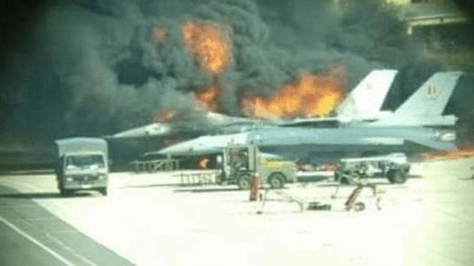 Случајно пукал од топ на Ф-16 па уништил друг авион