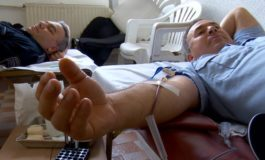 Кумановската полиција даруваше крв