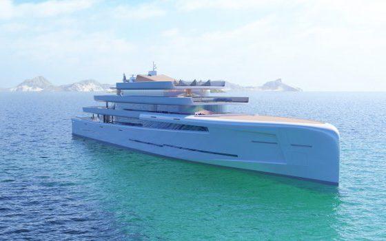 Новата суперлуксузна јахта чини 200 милиони фунти, а на море е целосно невидлива (ФОТО+ВИДЕО)
