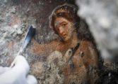 Еротска фреска пронајдена во Помпеја (ФОТО)