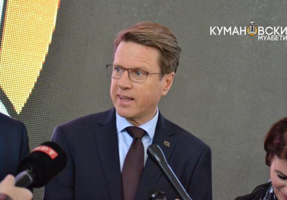 Самуел Жбогар нов почесен граѓанин на Општина Куманово