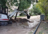 """Реконструирана водоводната мрежа на улиците зад """"Монопол"""" во Куманово"""