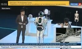 ЧОВЕК ИЛИ МАШИНА: Ова е рускиот робот Борис (ВИДЕО)