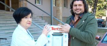 Кумановската болница доби прочистувачи на воздух преку хуманитарна забава