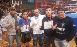 Стоилковиќ и Велковски со бронза од Државното првенство во кик бокс (ФОТО)
