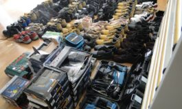 Електрични алати, електрични велосипеди и обувки запленети на ГП Табановце (ФОТО)