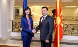 Заев и еврокомесарката Габриел: Северна Македонија активно е вклучена во Дигиталната агенда на ЕУ