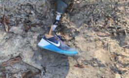 Нога паднала од небото, мистеријата била решена по два дена (ФОТО)