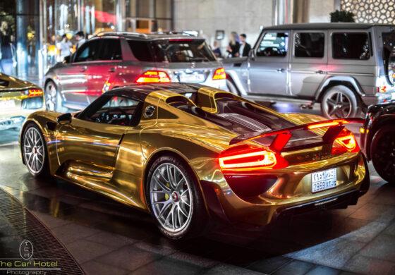 """Германските власти го исклучија од сообраќај златното """"Порше"""""""