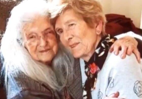 На 81. година ја запознала својата 104-годишна мајка (ВИДЕО)