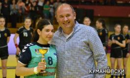 Мила Трајковиќ најдобра ракометарка на Ф4 турнирот од Купот на Македонија (ФОТО)