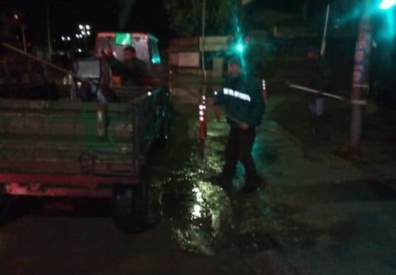 Поплавен подрум на куќа во населбата Перо Чичо